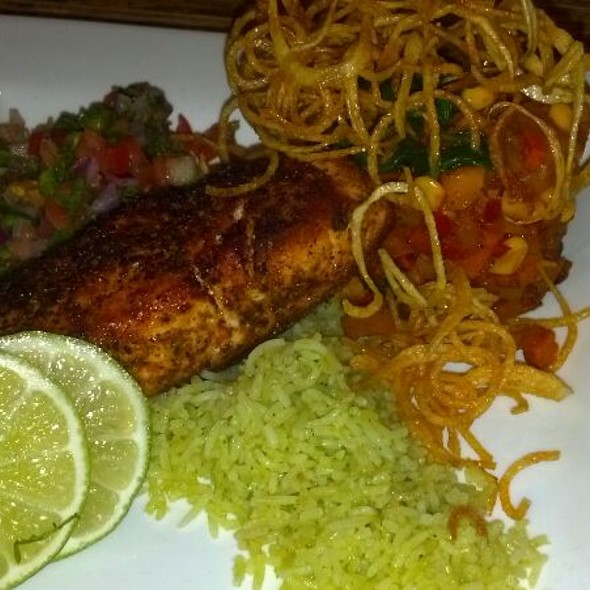Ancho Spiced Salmon - Old Blinking Light, Highlands Ranch, CO
