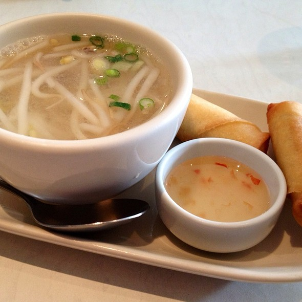 Chicken Soup And Thai Rolls - Roong Petch, Chicago, IL