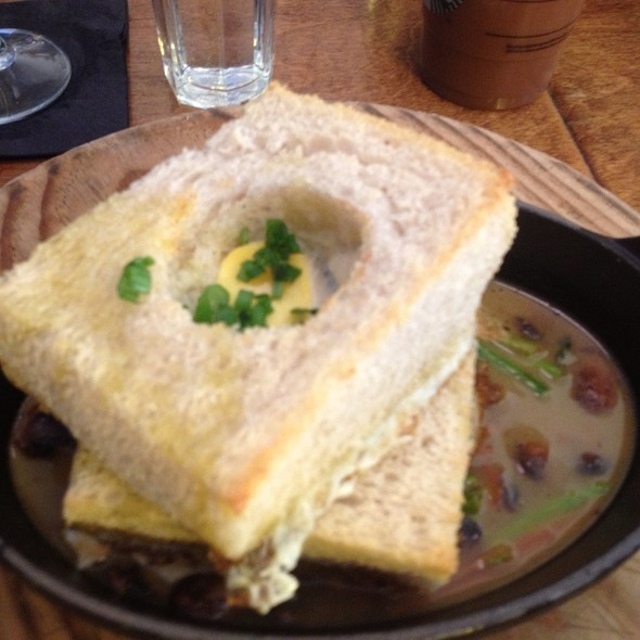 Eggs In Toast @ Marco & Pepe