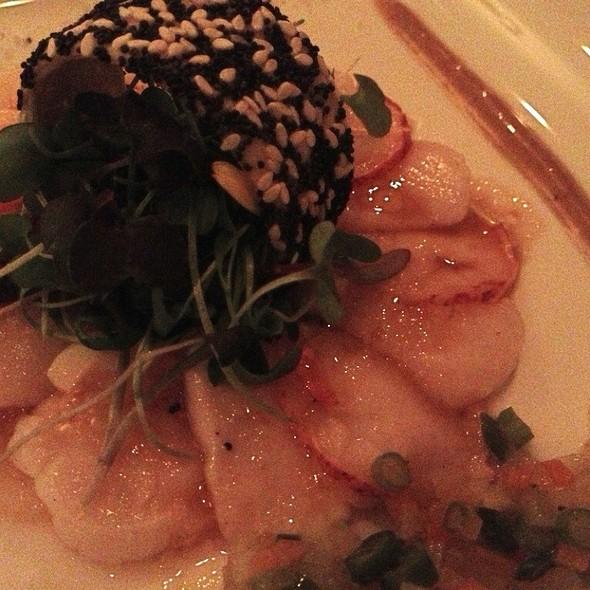 Lobster And Scallop Carpaccio @ Le Beaver Club