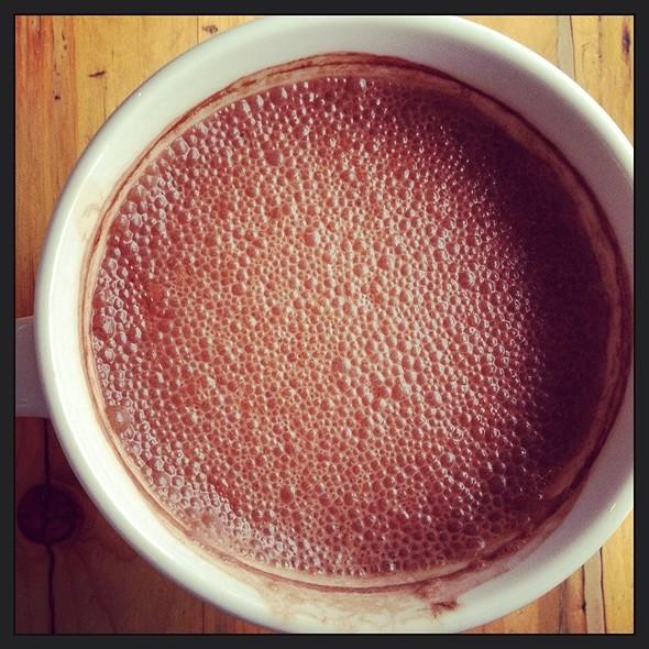 Hot Chocolate @ Le Caffe Mariani