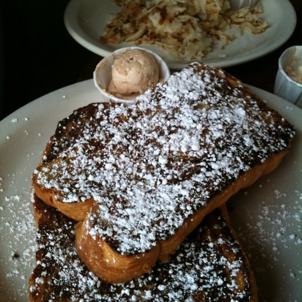 French Toast & Hash Browns @ Austin Java Barton Springs