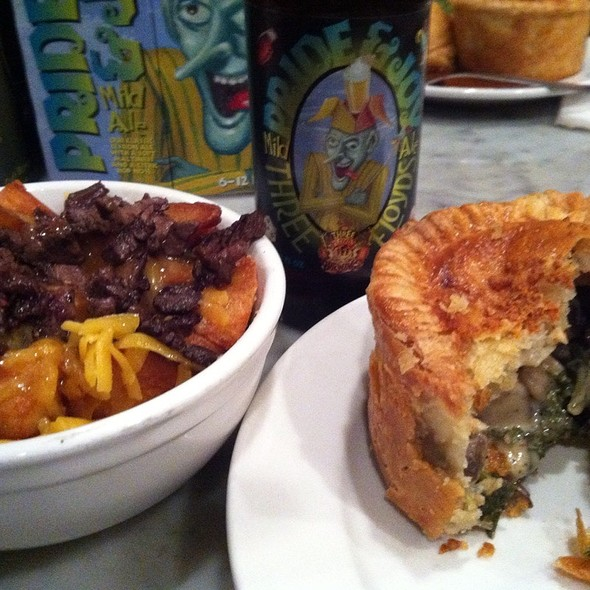 Mushroom and Kale Pie @ Pleasant House Bakery