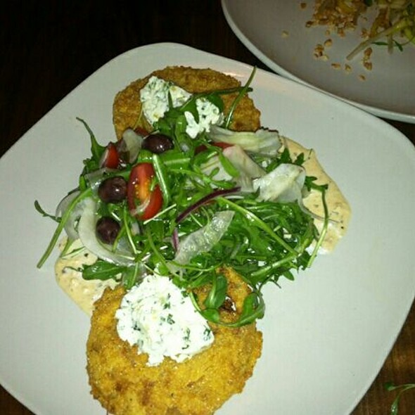 Fried Green Tomato Salad @ Edison: Food+Drink Lab