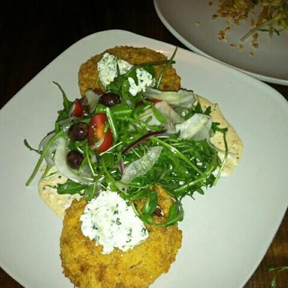 Fried Green Tomato Salad @ Edison: Food+Drink Lab