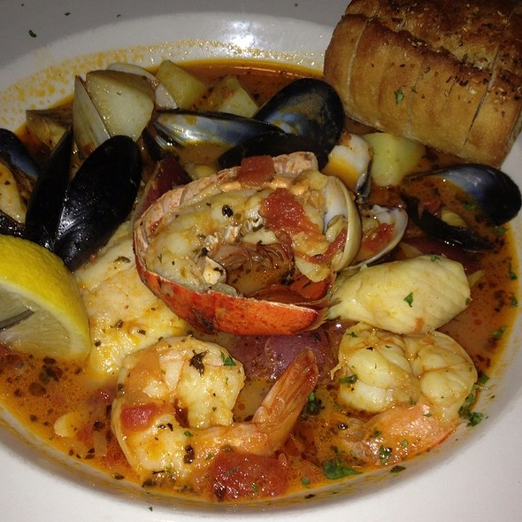 Fisherman's Stew - Raintree Restaurant, St. Augustine, FL