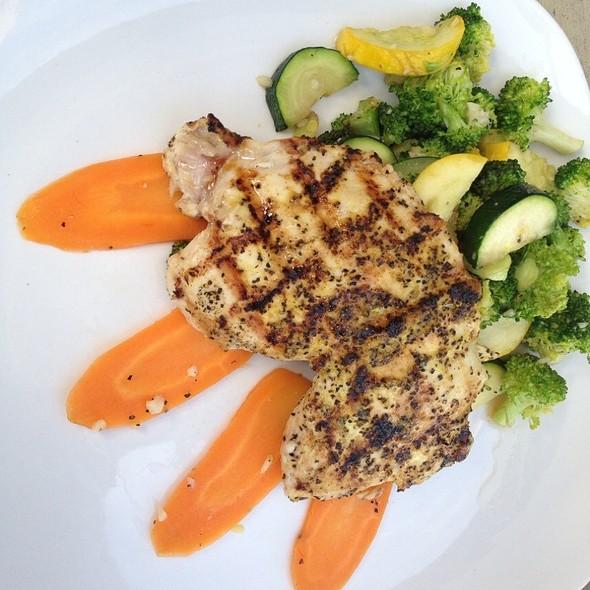 Chicken W Mixed Grilled Veggies @ Patrizio Restaurant