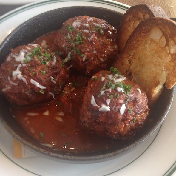 Meatballs Marinara @ Pizzeria Delfina