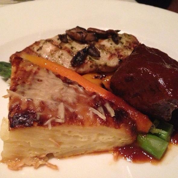 Chicken, Beef And Potatoes - Marina Kitchen - San Diego Marriott Marquis & Marina, San Diego, CA
