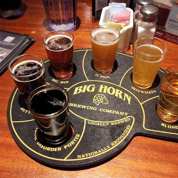 Beer Sampler Tray - Ram Restaurant & Brewery - Schaumburg, Schaumburg, IL