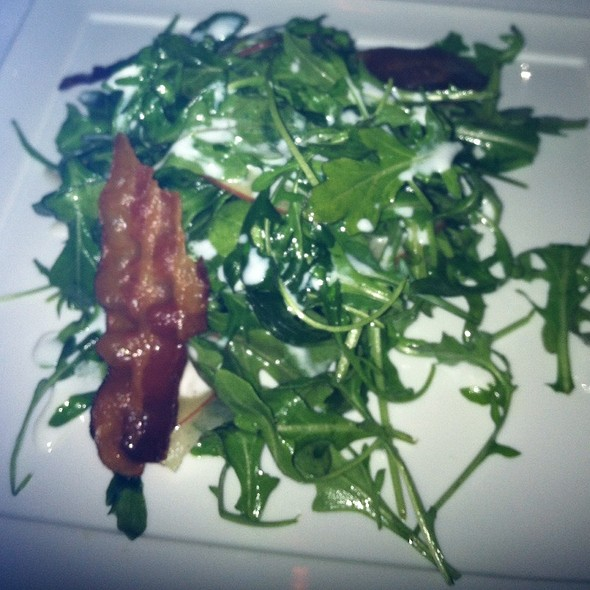 Arugula Salad With Bacon And Buttermilk - Lost Society - DC, Washington, DC