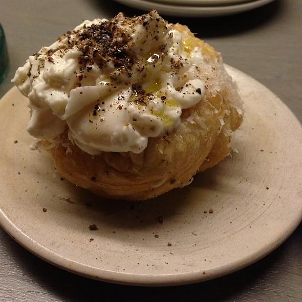 Garlic Bread With Burrata @ State Bird Provisions