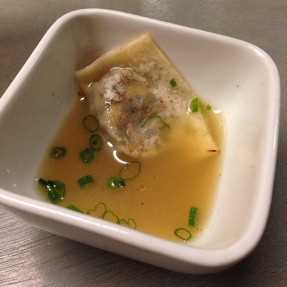 Guinea Hen Dumpling With Aromatic Broth @ State Bird Provisions