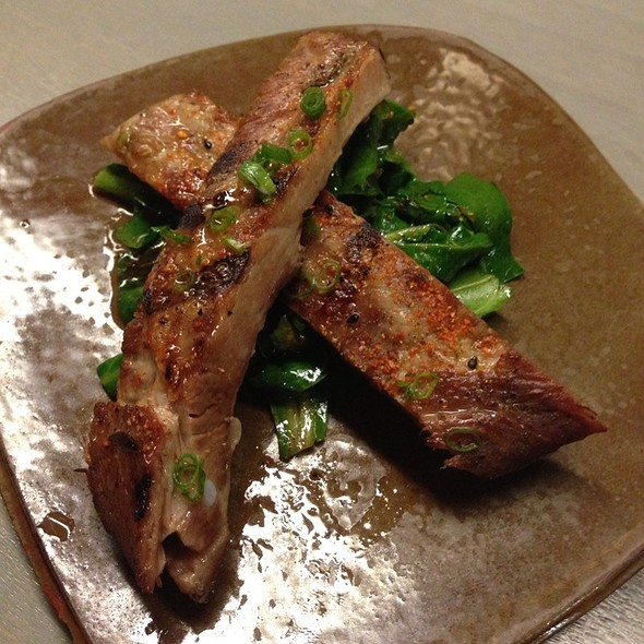 Glazed Pork Ribs With Swiss Chard, Togarashi at State Bird Provisions ...