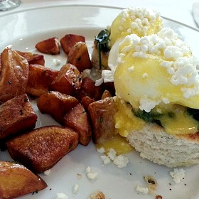 Eggs Florentine - Cafe Trio Cottonwood, Salt Lake City, UT