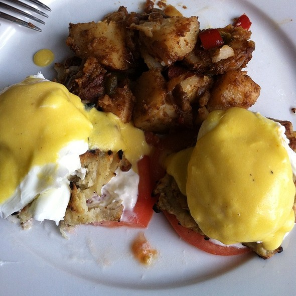 Potato Pancake Eggs Benedict