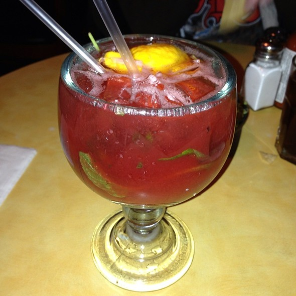 Strawberry Margarita @ El Jacalito Grill