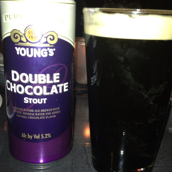 Young's Double Chocolate, Telegrams Buffalo Sweat Stout & Left Hand Milk Stout - Eat. An American Bistro, Virginia Beach, VA