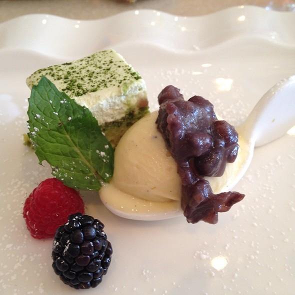 Green Tiramisu - Bluefin Restaurant, Newport Coast, CA