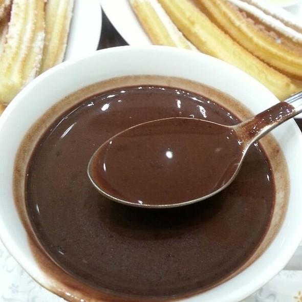Spanish Hot Chocolate @ Churreria Spanish Chocolateria