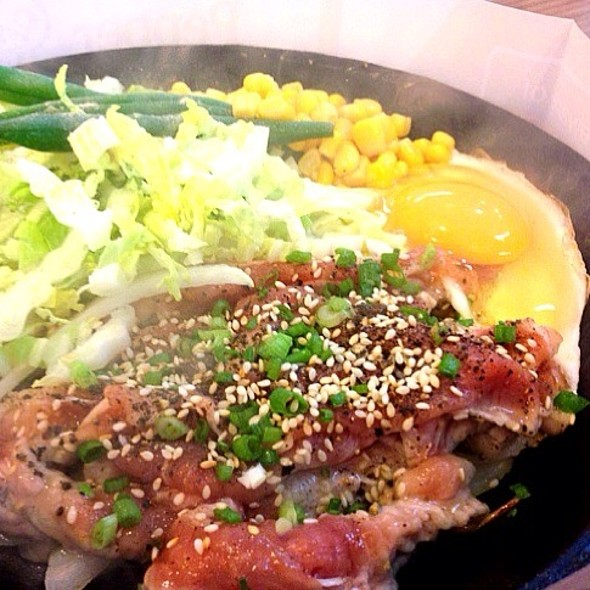 Beef Yakiniku With Egg @ Pepper Lunch (Fortune Town)