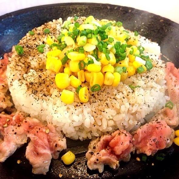 Pork Pepper Rice @ Pepper Lunch (Fortune Town)