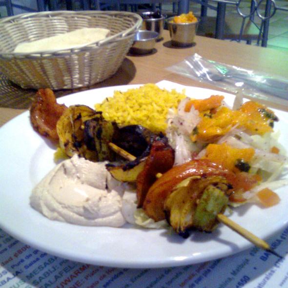 Vegetarian Kebab @ Sisso