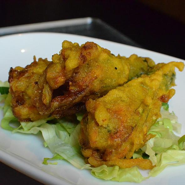 Stuffed Zucchini Flowers @ Yulli's - Café Bar Restaurant
