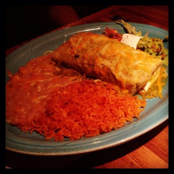 Vegetarian Burrito - Lopez Restaurante y Cantina, Monterey, CA