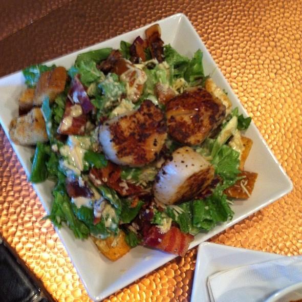 Seared Scallop Caesar Salad @ Hollys Eventful Dining
