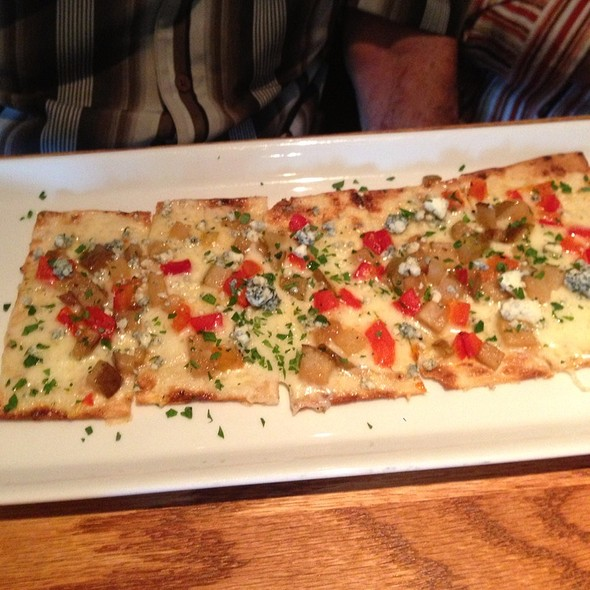 Seasonal Flatbread @ Carmel Cafe & Wine Bar