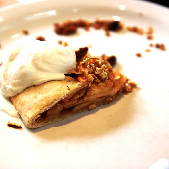 Apple Dessert - Blue Bird Bistro, Kansas City, MO
