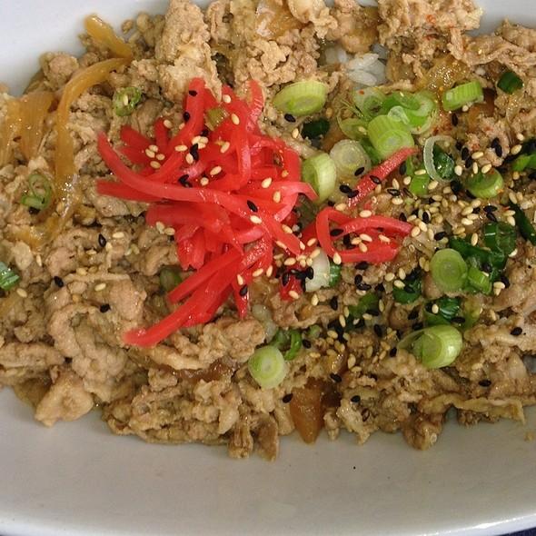 48 Hour Pork Rice Bowl