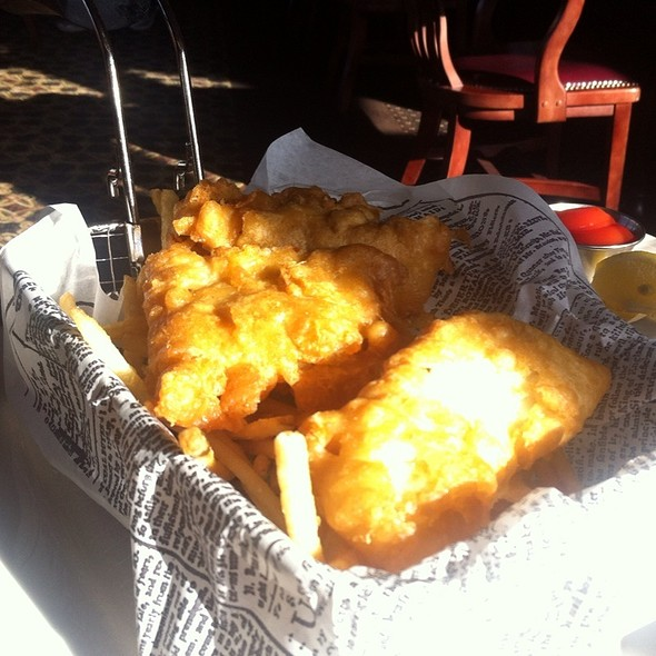 Halibut Fish and Chips - The Wayfarer Restaurant and Lounge, Cannon Beach, OR