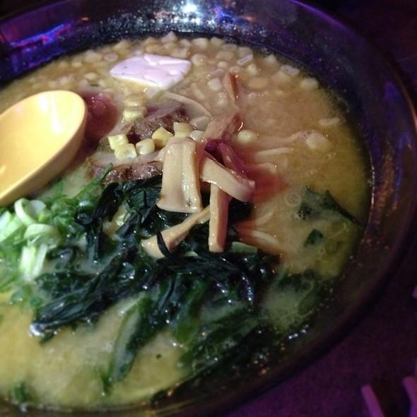 Miso Butter Corn Ramen @ Katana-ya