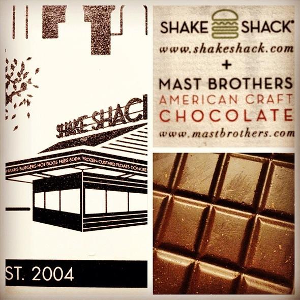 dark chocolate @ Shake Shack