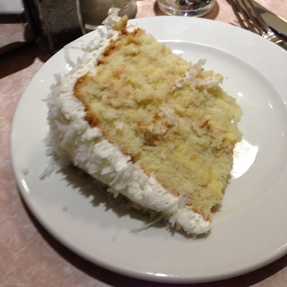 coconut cream layer cake @ Palo Alto Creamery Downtown
