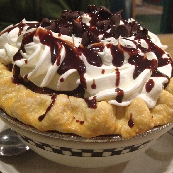 Chocolate Cream Pie @ Black Bear Diner