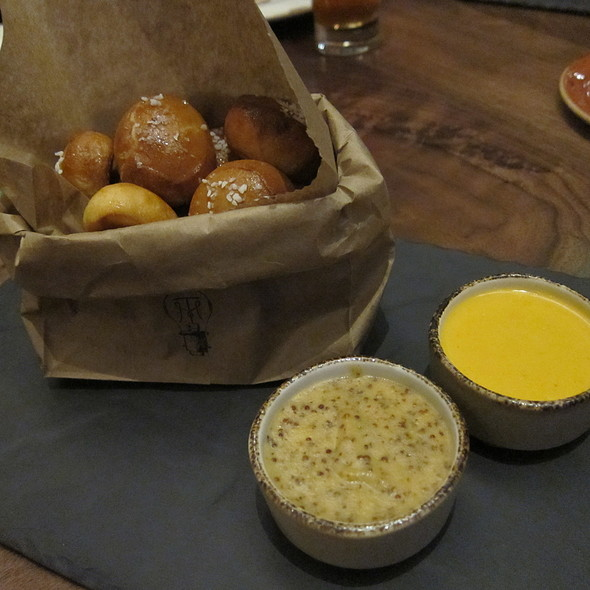 Pretzel Balls @ Trademark Bar