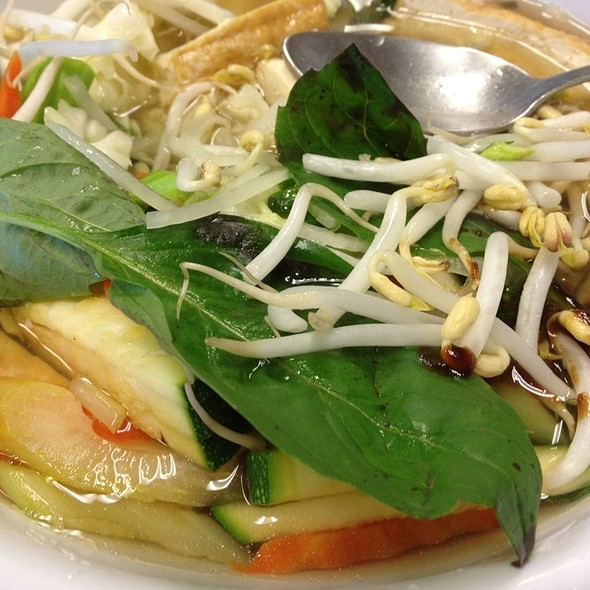 Vegetarian Pho (w/tofu)