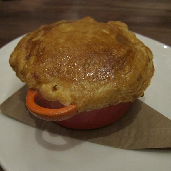 Seafood Pot Pie @ Trademark Bar