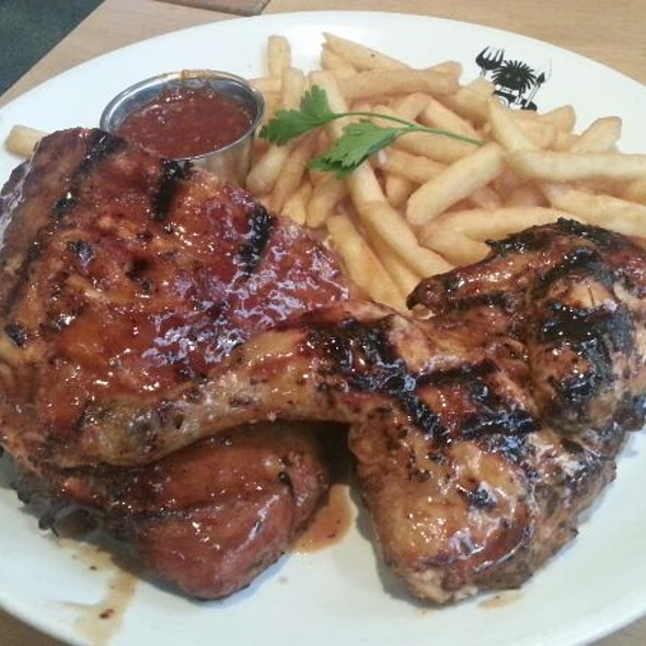 Pork Ribs Chicken Combo At And Rumps Sydney Olympic Park