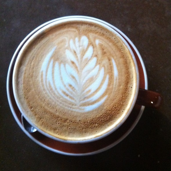 Cafe Latte @ Sightglass Coffee