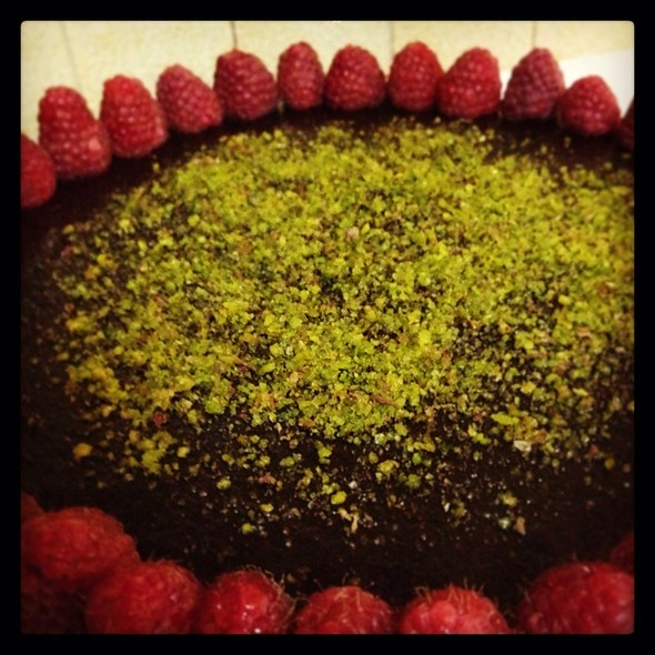 Pistacchio And Choccolate, Cake