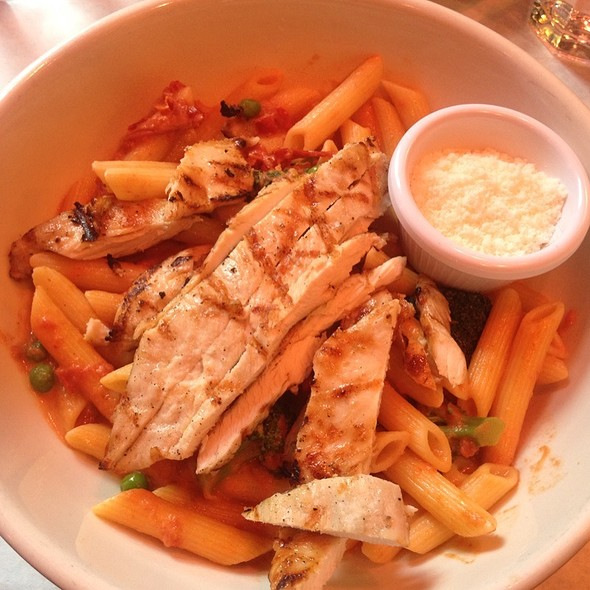 Penne Pasta with Grilled Chicken - Hi-Life Restaurant - Upper West Side, New York, NY