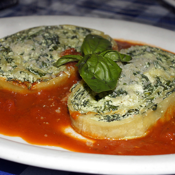 Pasta Rollatini with Spinach and Ricotta