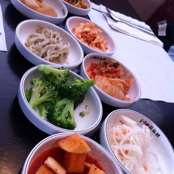 Banchan @ Hoban Restaurant