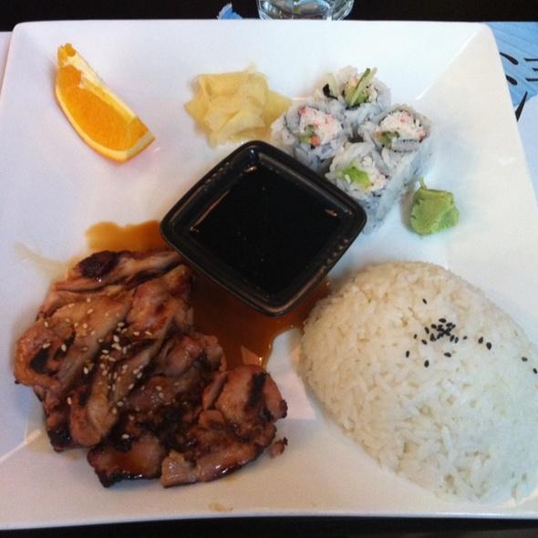 Blue fish sushi bar the menu south jordan ut foodspotting for Blue fish sushi