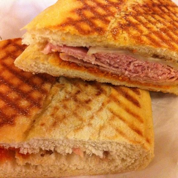 Muffuletta Sandwich @ Boccalone Salumeria