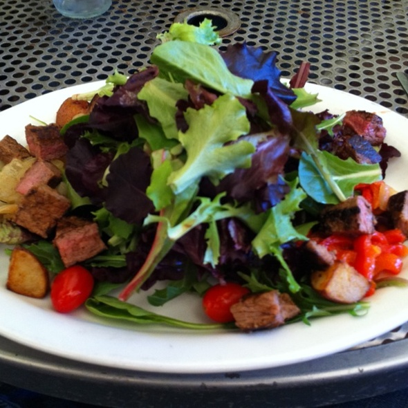 Steak Salad @ Mars Bar & Restaurant